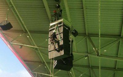 Aanpassen geluid Noordlease Stadion
