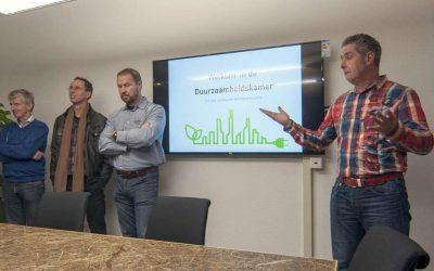 Opening Duurzaamheids kamer Gemeente Groningen