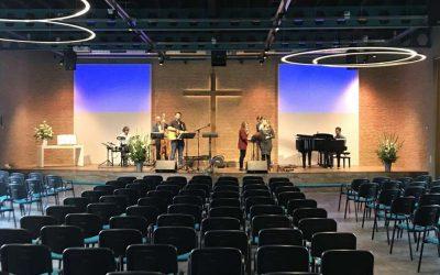 Kerk van de Nazarener – nieuw luidsprekersysteem
