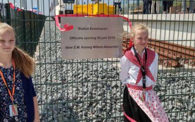 Opening station Eemshaven
